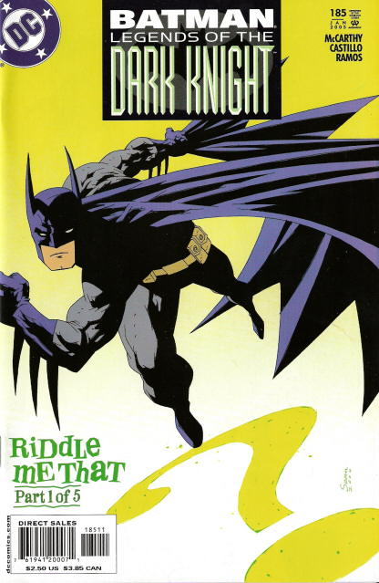 Batman: Legends of the Dark Knight 185 – 189